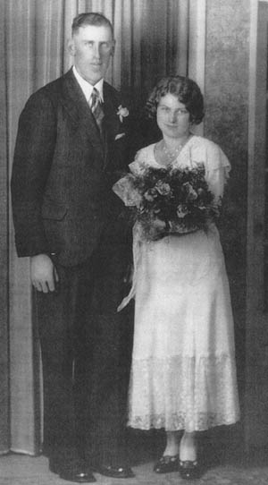 Harold and Marjorie Dougherty were married on October 19, 1932 at the Greenwood manse by Rev. H. J. Latimer