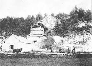 The Jamieson Lime Kiln. Grants Settlement Road
