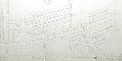 Plan of the Village of Foresters Falls in the County of Renfrew. August 10, 1886