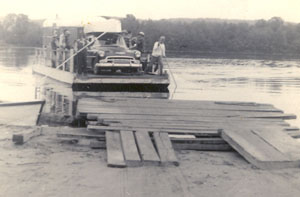 The second Spotswood ferry launched in 1940