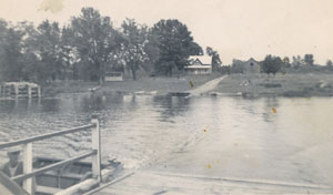 Spotswood river front. 1951